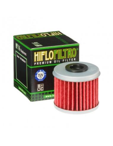 FILTRO DE ACEITE HIFLOFILTRO HONDA CRF 250R 04-20 CRF 250X 04-20