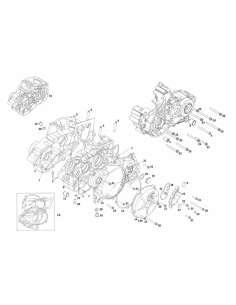 JUNTA TAPA EMBRAGUE METALICA GAS GAS EC 200/250/300 - ME25644002