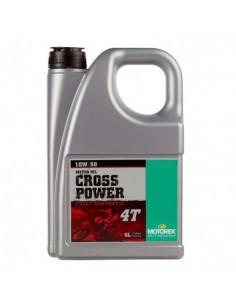 ACEITE MOTOREX CROSS POWER 4T 10W50 - 4 LITROS