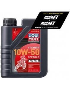 ACEITE LIQUI MOLY 4T SYNTH 10W50 OFF ROAD RACE 100% SINTETICO - 1 LITRO