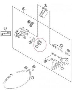 KIT REPARACION PINZA DE FRENO TRASERA KTM EXC/SX 03-13