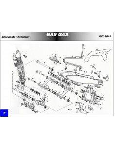 ARANDELA REGLAJE 22.4X36X0.7 GAS GAS