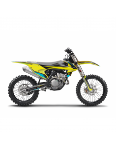 KIT ADHESIVOS BLACKBIRD STEALTH KTM EXC 17-19 SX/SXF 16-18