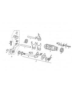 RETEN SELECTOR CAMBIO GAS GAS 12-22-7 AS-CC M03821000